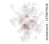 dark red vector backdrop with... | Shutterstock .eps vector #1370879618
