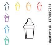line illustration of eight... | Shutterstock .eps vector #1370892398