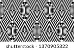 seamless pattern with hypnotic... | Shutterstock .eps vector #1370905322