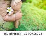 mother and child statue in... | Shutterstock . vector #1370916725