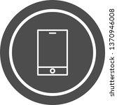 smart device icon design  | Shutterstock . vector #1370946008