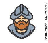 conquistador medieval conqueror ... | Shutterstock . vector #1370954048