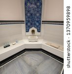 hammam turkish stone bathroom | Shutterstock . vector #1370959898