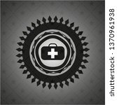 medical briefcase icon inside...   Shutterstock .eps vector #1370961938