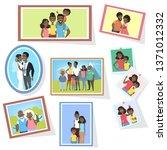 gallery of african american... | Shutterstock . vector #1371012332