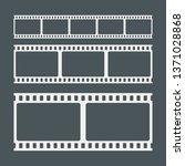 video tape photo film strip... | Shutterstock .eps vector #1371028868