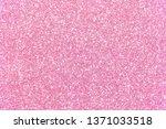 pink glitter texture christmas... | Shutterstock . vector #1371033518