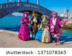 venice  italy   feb 26  ...   Shutterstock . vector #1371078365