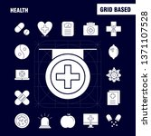health solid glyph icon for web ...