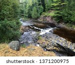tisher creek  one of numerous... | Shutterstock . vector #1371200975