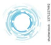 vector modern creative backdrop ... | Shutterstock .eps vector #1371227492
