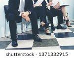 job interview. group of asian...   Shutterstock . vector #1371332915