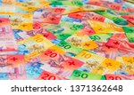 collection of the new swiss... | Shutterstock . vector #1371362648