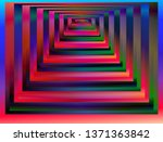 optical background with striped ... | Shutterstock .eps vector #1371363842