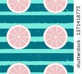 abstract citrus seamless... | Shutterstock .eps vector #1371418775