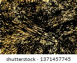 black and golden dynamical... | Shutterstock .eps vector #1371457745