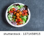 Sweet Potato Falafel Vegetables ...