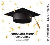 graduating class of 2019.... | Shutterstock .eps vector #1371470762