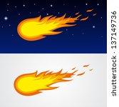 comets caricature | Shutterstock .eps vector #137149736