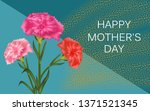horizontal template for mother... | Shutterstock .eps vector #1371521345