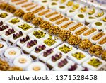 arabic sweets in the sweets... | Shutterstock . vector #1371528458