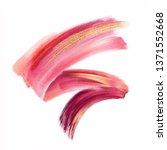 digital illustration  red pink...   Shutterstock . vector #1371552668
