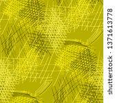 various pencil hatches.... | Shutterstock .eps vector #1371613778