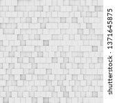 modern abstract geometric... | Shutterstock . vector #1371645875