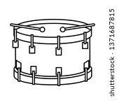drum musical instrument icon | Shutterstock .eps vector #1371687815