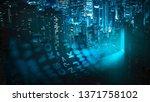 city of innovation at night | Shutterstock . vector #1371758102
