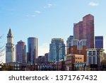 boston  massachusetts united...   Shutterstock . vector #1371767432
