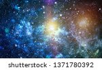 Small photo of High definition star field background . Starry outer space background texture . Colorful Starry Night Sky Outer Space background