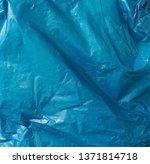 crumpled plastic bag texture ... | Shutterstock . vector #1371814718