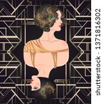 Art Deco Vintage Invitation...