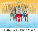 hungary landmark global travel... | Shutterstock .eps vector #1371828572