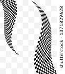 checkered background design ... | Shutterstock .eps vector #1371829628