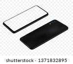 smartphone  mockup vector... | Shutterstock .eps vector #1371832895