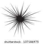 comic burst background | Shutterstock .eps vector #137186975