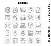 business line icon for web ...