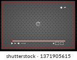 flat video player interface