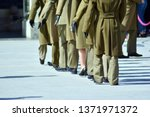 officers of army in gala...   Shutterstock . vector #1371971372
