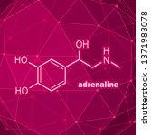 chemical molecular formula...   Shutterstock . vector #1371983078