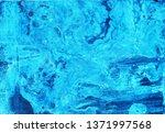 sea ocean waves blue white... | Shutterstock . vector #1371997568