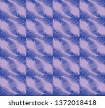 spoon flower feather fabric... | Shutterstock .eps vector #1372018418