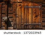 Rustic Barn Door   Old Wood...