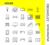house hand drawn icon for web ...