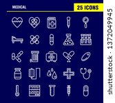 medical line icon pack for...