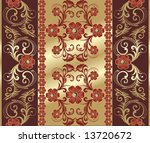 beautiful background with gold... | Shutterstock .eps vector #13720672