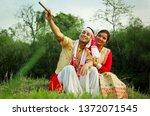 young assamese couple in... | Shutterstock . vector #1372071545