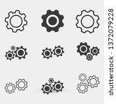 settings icon vector eps 10   Shutterstock .eps vector #1372079228